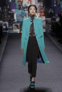 Tracy Reese fall '12 light aqua coat