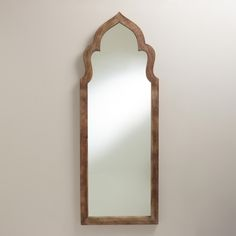 Gray Sahar Arch Mirror | World Market