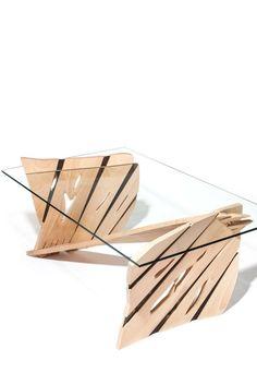 Tuomas Kuure's Art-Driven Wooden Furniture