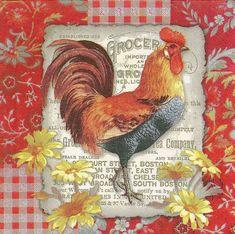 East Boston, Easy Canvas Painting, Galo, Hens, Vintage Images, Cute Art, Decoupage, Mandala, Farm Chicken