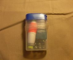 This is an easy way to pack everything you need to fish in a tiny, buoyant, easy to carry package! I've used a Tic-Tac container, but you can also use...
