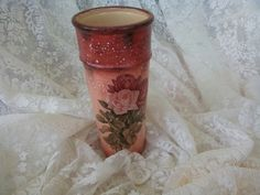 Decoupage, Candle Holders, Vase, Candles, Home Decor, Decoration Home, Room Decor, Porta Velas, Candy