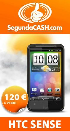 #Venta Móvil HTC Sense http://www.segundacash.com/