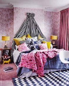 Una casa perfecta, colorista y llena de vida en Londres · A perfect, cheerful & lively home in London | VINTAGE & CHIC | Bloglovin'