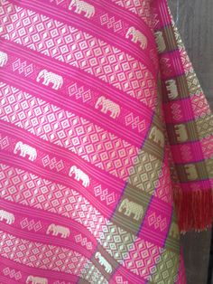 Textile from India by ReynasCloset on Etsy, $29.00