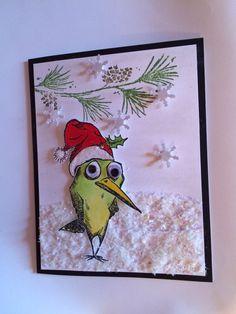 Card: Bird Crazy Christmas