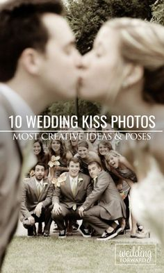 10 Most Creative Wedding Kiss Photos ❤ The Kiss is one of the most romantic parts of the #wedding. Check out our collection of what we consider some of the most creative wedding kiss photos. See more: http://www.weddingforward.com/10-most-creative-wedding-kiss-photos/ #weddingplanning #brides