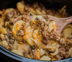 Slow Cooker Beef and Potato Au Gratin – Recipes 2 Day