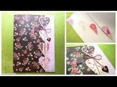 Manualidades para la vuelta al cole: Cómo decorar una libreta sin espiral. Tutorial scrapbook