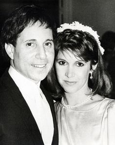 Paul Simon and Carrie Fisher (Credit: Ron Galella/WireImage)