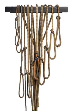 And these are the ropes that hanged London's most notorious criminals. Museum of Scotland Yard