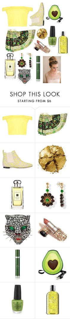 """india"" by lucyyfelton ❤ liked on Polyvore featuring Boohoo, Bams, Pat McGrath, Jo Malone, Gucci, RéVive, Sleepyville Critters, OPI and Molton Brown"