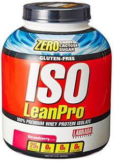 Labrada Nutrition ISO LeanPro 100% Premium Whey Protein Isolate Powder, Strawberry, 5 Pound //Price: $84.95 & FREE Shipping //     #hashtag1