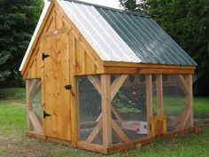 Diy Plans- 8x8 Chicken Coop- Foul/quail/peasant/bird/rabbit Outdoor Shelter