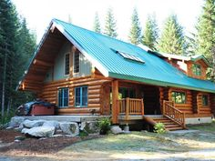 Call Linda McFarlane for showing at 206.854.1008. Quality custom log home built from Canadian Western Red Cedar logs. Privacy abounds, 5+acre site with land conservancy ownership adjacent. Fantastic river frontage views. Property lies adjacent to Gold Creek and Gold Creek Pond. River rock fireplace, upper loft area, custom kitchen with soapstone counters, French doors off deck leading into cozy op ...  More Details www.TheCascadeTeam.com