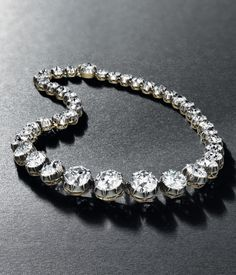Diamond Rivière Necklace, 1880/90