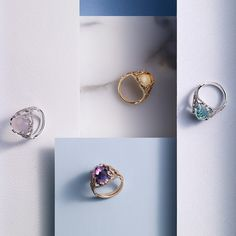 Sarah Ho Collection For William & Son - The Best Cocktail Rings | Town & Country Magazine UK