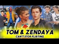 TOM HOLLAND AND ZENDAYA CANT STOP FLIRTING WITH EACH OTHER | Spider-Man: Far From Home Teaser - YouTube Marvel Trailers, Tom Holland Zendaya, Walking Meme, Avengers Cast, British Boys, Zendaya Coleman, Marvel Actors, I Don T Know, Funny Pictures