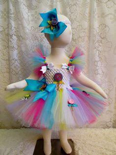Lourie Tumino  Custom Order  Lollipop Tutu Dress & by cd1ofakind