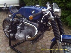 bmw boxer Cafe O, Cafe Bike, Bmw Cafe Racer, Bmw Design, Bmw Boxer, Café Racers, Bike Ideas, Bmw Motorcycles, Custom Bikes