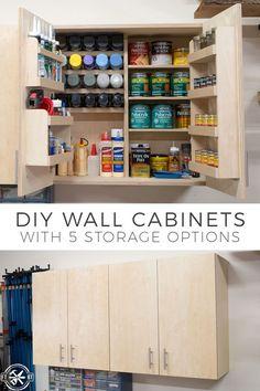 11 best diy garage storage cabinets images tool storage garage rh pinterest com