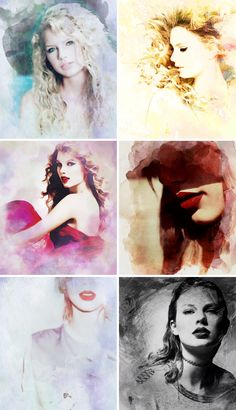 Taylor Eras... 1. Taylor Swift 2. Fearless 3. Speak Now 4. RED 5. 1989 6. reputation
