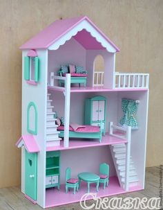 If you want your children to listen, try talking softly to someone else. Cardboard Dollhouse, Wooden Dollhouse, Diy Dollhouse, Princess Doll House, Barbie Doll House, Barbie Furniture, Dollhouse Furniture, Doll House Plans, Doll House Crafts
