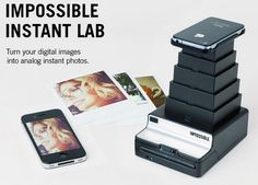 Imprimante Polaroid pour iPhone - #HighTech - Visit the website to see all photos http://www.arkko.fr/imprimante-polaroid-pour-iphone/