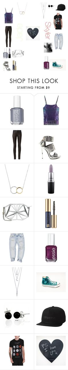 """Jade and Skyler"" by mhoman ❤ liked on Polyvore featuring Essie, Rosie Assoulin, rag & bone, Bjørg, MAC Cosmetics, Chanel, Estée Lauder, OneTeaspoon, BERRICLE and Bling Jewelry"