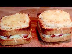 Nehmen Sie Mehl, Hefe, Wasser und machen Sie das beste Sandwich der Welt! # 429 - YouTube Beignets, Youtube Cooking, Best Sandwich, Bruschetta, Pizza, Parfait, Cheesecake, Sandwiches, Rolls