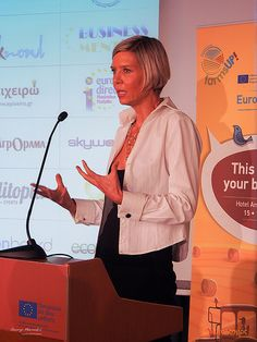 Here i am daring to talk in front of a lot of people for the first time ever, trying hard to express my self in Greek!. Do more of that. Dare again and again. Face your fears. Sofie Tvarno