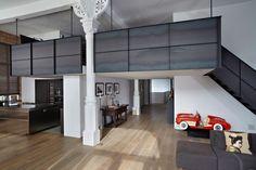 Industrial Loft in Amsterdam Gets Contemporary Upgrade - http://freshome.com/industrial-loft-Amsterdam/