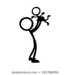 Afbeeldingen, stockfoto's en vectoren van Stick Figure Family Stick Figure Family, Stick Family, Pencil Art Drawings, Drawing Sketches, Human Vector, Stick Figure Drawing, Action Pictures, Family Drawing, Stick Man