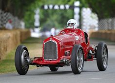 Alfa Romeo P3 - Originally known as the Tipo B, the P3 represented a milestone in Alfa's sporting history, winning in its debut Grand Prix at Monza in 1932, and remaining unbeaten in the 1933 season.