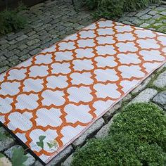 10 best Indoor Outdoor Carpets and Rugs images on Pinterest   Rugs     Carrot and White Outdoor Rug