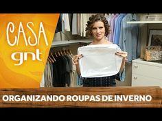Como guardar as roupas de inverno | Micaela Góes - YouTube