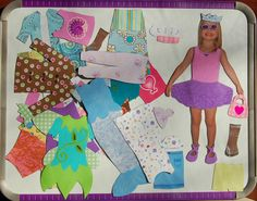 magnetic paper doll your kids