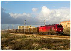 https://flic.kr/p/mQuUjt | S.Félix 19-01-14 | Locomotiva Diesel Nº6001, Comboio nº48842, Tuy > Ródão