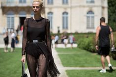 The Best Street Style From Couture  - ELLE.com