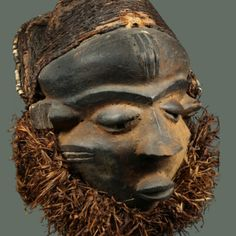 MBUYE MASK | Virtual Tribal and Textile Art Shows Sculptures, Lion Sculpture, Rite Of Passage, Male Figure, Ivory Coast, West Africa, Tribal Art, Republic Of The Congo, Abstract Expressionism