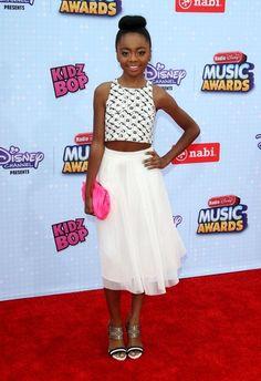 Skai Jackson at the 2015 Radio Disney Music Awards