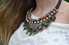 A Big Necklace For A Big Impression
