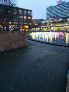 Colored Lights in Manchester