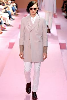 Book Management - Gryphon O'Shea for Paul Smith Spring/Summer 14
