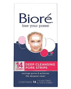 Suitable For Men pack Of 11 Biore Deep Cleansing Pore Strips Charcoal 6 Ea Women And Children