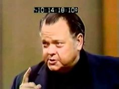 Orson Welles, 8 days before his death 1985 - YouTube