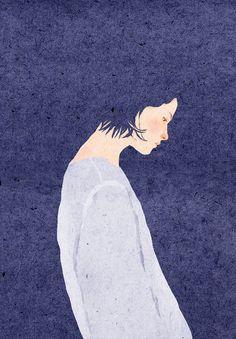 -Anon artwork by xuan loc xuan art et illustration, crea Art And Illustration, Illustrations And Posters, Character Illustration, Kunst Online, Art Watercolor, Photocollage, Art Graphique, Love Art, Oeuvre D'art