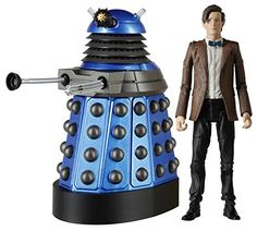 Amazon.com : Doctor Who the 11th Doctor with Paradigm Dalek Strategist, Asylum of the Daleks : Everything Else