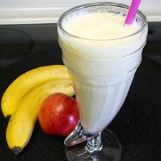 Granana Smoothie Recipe- Need to use frozen apples, but most recipes are unhealthy and I am not interested in applesauce or apple butter. Thinking of trying this....