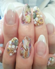 お客様ネイル&my nail♡ の画像|NailsBackFlow